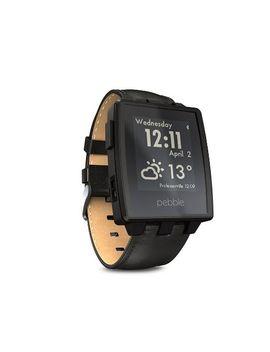 pebble-steel-smartwatch-black-matte by pebble