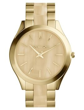 michael-kors-slim-runway-round-bracelet-watch,-42mm by michael-michael-kors