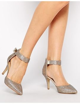 oasis-georgia-sparkle-two-part-pumps by oasis