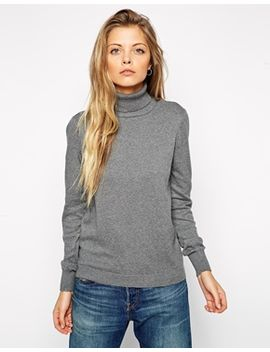 asos-jumper-with-roll-neck by asos-collection