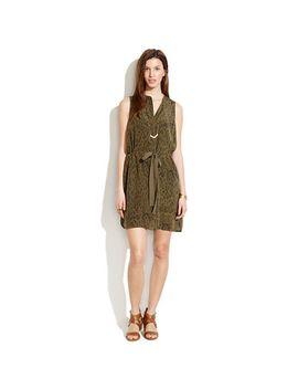 silk-playa-dress-in-leopard-fade by madewell