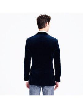 ludlow-shawl-collar-blazer-in-velvet by jcrew