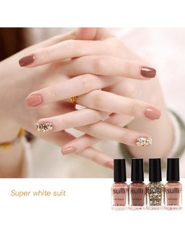 4-bottles-nail-polish-office-lady-nude-style-innocuity-nail-varnish by ali-express