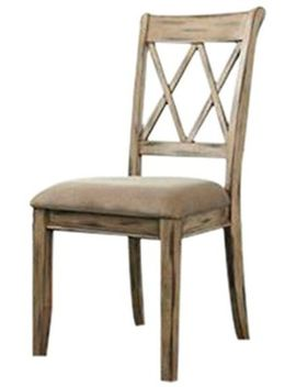 ashley-furniture-signature-design---mestler-dining-side-chair---upholstered-seat---set-of-2---antique-white by signature-design-by-ashley