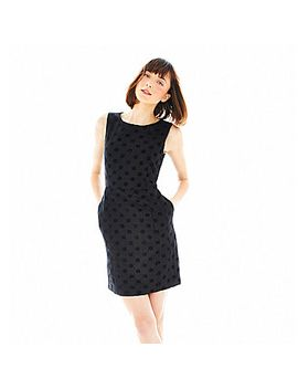 joe-fresh-sleeveless-polka-dot-dress by general