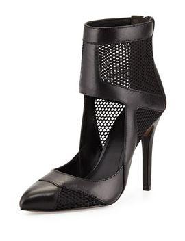 zoia-leather-and-mesh-pump,-black by pour-la-victoire