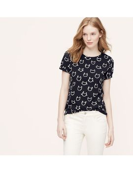 cat-graphic-tee by loft