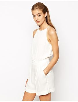 mango-tailored-belted-playsuit by mango