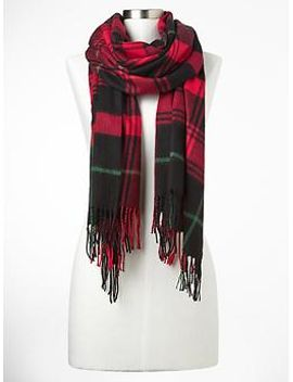 cozy-plaid-scarf by gap