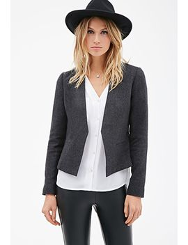 tweed-open-front-blazer by forever-21