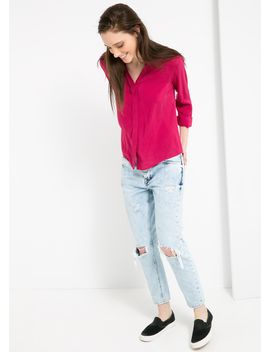 flowy-shirt by mango