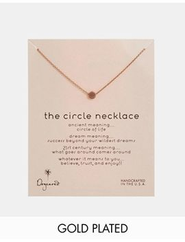 dogeared-rose-gold-plated-the-circle-necklace by dogeared