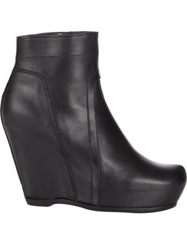 platform-wedge-ankle-boots by rick-owens