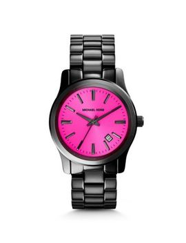runway-fuschia-and-onyx-watch by michael-kors