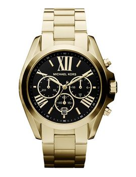 womens-chronograph-bradshaw-gold-tone-stainless-steel-bracelet-watch-43mm-mk5739 by michael-kors
