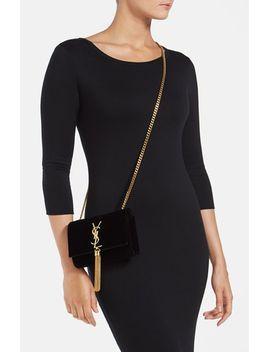 cassandre-velour-shoulder-bag by saint-laurent