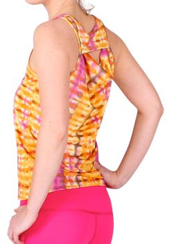 The Flow Back Yoga Top by Anjali
