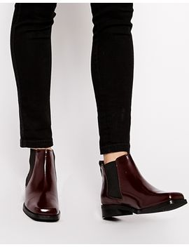 asos-amsterdam-leather-chelsea-boots by asos-collection
