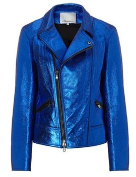 cobalt-leather-motorcycle-jacket by 31-phillip-lim
