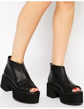 asos-rags-to-riches-platform-ankle-boots by asos-collection