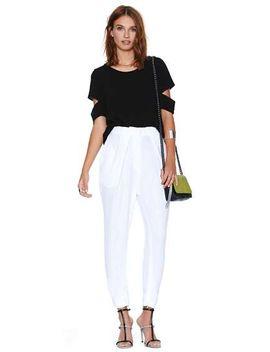 black-short-sleeve-split-casual-t-shirt by sheinside