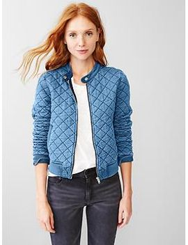 indigo-knit-bomber by gap