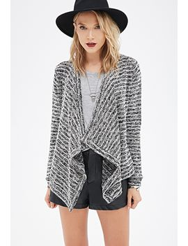 bouclé-open-front-cardigan by forever-21
