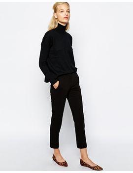 pantalon-ajusté-à-2-poches by mango