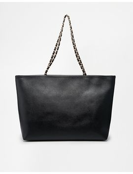 asos-shoulder-bag-with-wrapped-chain-handles by asos-collection