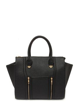 wing-woman-black-handbag by lulus