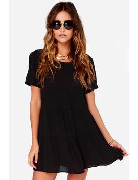 cult-following-black-shift-dress by lush