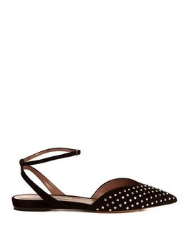vera-studded-suede-flats-(208667) by tabitha-simmons