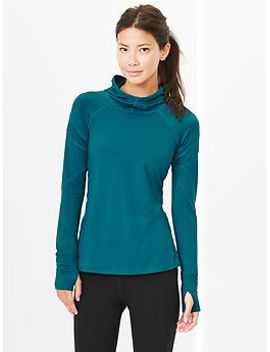 gapfit-mesh-panel-running-hoodie by gap