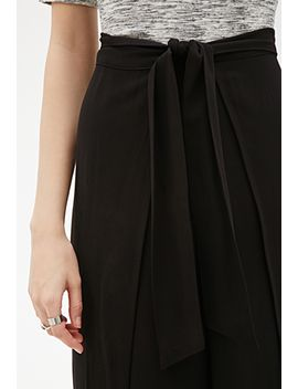 tulip-leg-tie-waist-trousers by forever-21