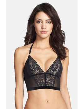 seven-wonders-lace-&-velvet-trim-longline-bra by free-people