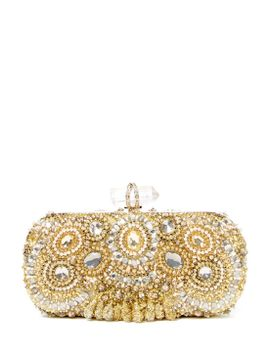 lily-embellished-box-clutch by marchesa