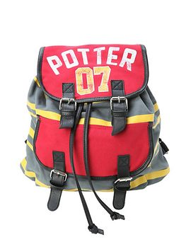 harry-potter-07-stripe-slouch-backpack by hot-topic