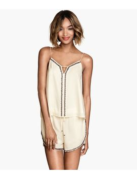 beaded-camisole-top by h&m
