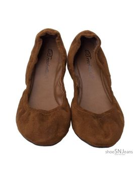 new-classic-casual-ballet-slip-on-flat-shoes-faux-suede-velvet-low-heel-shoes by unbranded