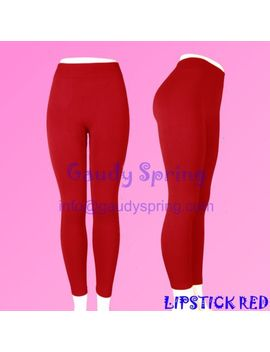 brushed-stretch-fleece-thermal-lined-thick-comfy-heavy-pants-solid-warm-leggings by gaudy-spring-or-others