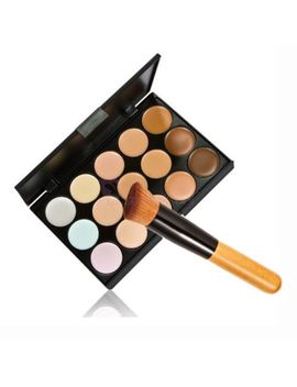 new-pro-makeup-cosmetic-15-colors-concealer-palette-with-powder-brush-cc-63 by ebay-seller