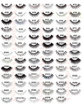 (pick-any!)-20-pairs-red-cherry-false-eyelashes-fake-lashes-authentic-black-lot by red-cherry