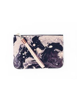 tonala-media-clutch---black-marble by scoutandcatalogue
