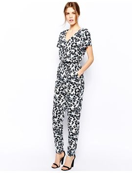 warehouse-shadow-floral-jumpsuit by warehouse
