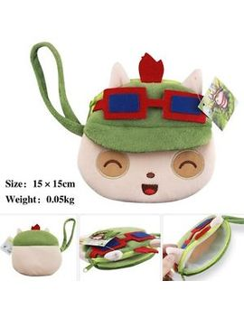 lol-league-of-legends-teemo-the-armordillo-rammus-lovely-plush-purse-wallet-gf by unbranded