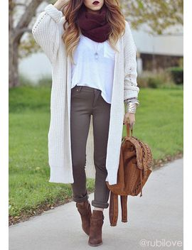 wrap-knit-cardigan by lookbook-store
