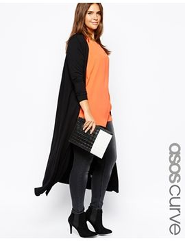 asos-curve-exclusive-maxi-cardigan-in-jersey by asos