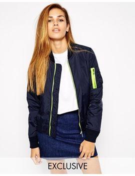 schott-nyc-bomber-jacket-with-contrast-trim by schott