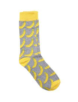 banana-crew-socks by forever-21