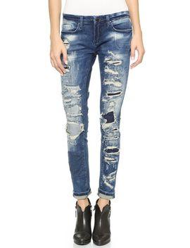 skinny-distressed-jeans by blank-denim